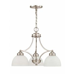 Somerset - 3 Light Chandelier in Somerset Style - 20 Inches wide by 16 Inches high