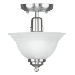 North Port - 1 Light Flush Mount in North Port Style - 8 Inches wide by 8.5 Inches high