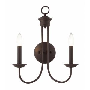 Estate - 2 Light Wall Sconce