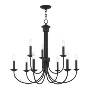 Estate - 9 Light Chandelier in Estate Style - 30 Inches wide by 27 Inches high