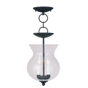 Legacy - 2 Light Convertible Mini Pendant in Legacy Style - 8.25 Inches wide by 18 Inches high