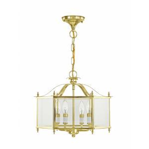 Livingston - Four Light Convertible Pendant