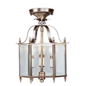 Livingston - Three Light Convertible Flush Mount