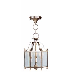 Livingston - 3 Light Convertible Mini Pendant in Livingston Style - 10 Inches wide by 15.25 Inches high