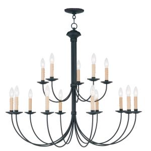 Heritage - Fifteen Light 2-Tier Chandelier