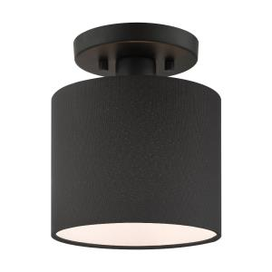 Bainbridge - 7 Inch 1 Light Semi-Flush Mount