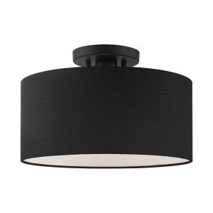 Bainbridge - 13 Inch 1 Light Semi-Flush Mount