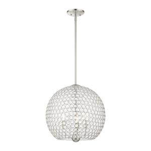 Cassandra - 3 Light Pendant in Cassandra Style - 16 Inches wide by 18 Inches high