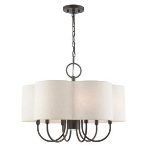 Solstice - 7 Light Chandelier in Solstice Style - 24 Inches wide by 18.75 Inches high