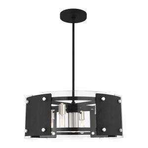 Barcelona - 7 Light Pendant in Barcelona Style - 27.25 Inches wide by 17.75 Inches high