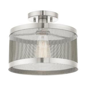 Industro - One Light Semi-Flush Mount