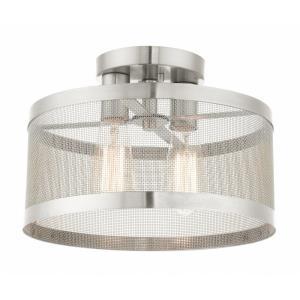 Industro - Two Light Semi-Flush Mount