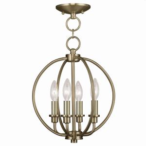 Milania - Four Light Convertible Flush Mount