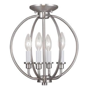 Milania - Four Light Convertible Flush Mount