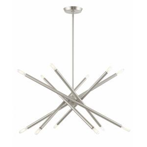 Soho - 12 Light Chandelier in Soho Style - 27.5 Inches wide by 25 Inches high