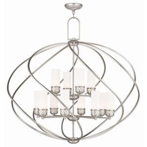 Westfield - 12 Light Foyer Chandelier in Westfield Style - 42 Inches wide by 39 Inches high