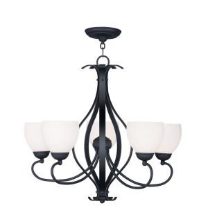 Brookside - Five Light Chandelier