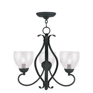 Brookside - Three Light Chandelier