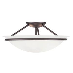 Newburgh - Three Light Semi-Flush Mount