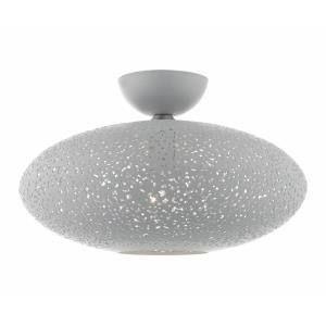 Charlton - 1 Light Semi-Flush Mount in Charlton Style - 15.88 Inches wide by 10.5 Inches high