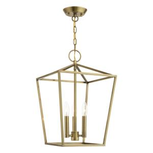 Devonshire - Three Light Convertible Lantern