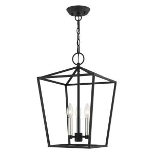 Devonshire - 3 Light Convertible Semi-Flush Mount in Devonshire Style - 12.5 Inches wide by 19.5 Inches high