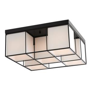 Trondheim - 5 Light Flush Mount in Trondheim Style - 15.5 Inches wide by 6.5 Inches high