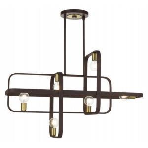Bergamo - 6 Light Linear Chandelier