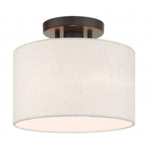 Meadow - 10 Inch 1 Light Semi-Flush Mount