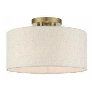 Blossom - 1 Light Semi-Flush Mount
