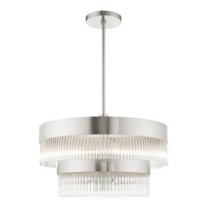Norwich - 7 Light Chandelier in Norwich Style - 24 Inches wide by 23.5 Inches high