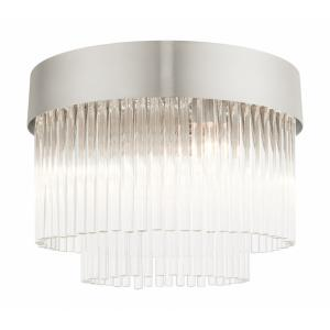 Norwich - 4 Light Flush Mount in Norwich Style - 13.25 Inches wide by 10 Inches high