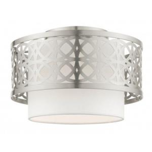 Calinda - 1 Light Semi-Flush Mount