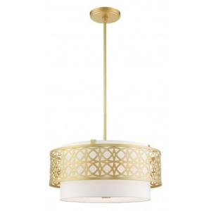 Calinda - 4 Light Pendant in Calinda Style - 20.25 Inches wide by 18 Inches high