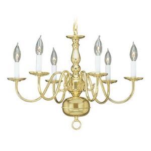 Williamsburgh - Six Light Chandelier