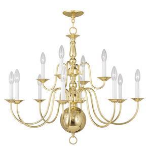 Williamsburgh - Eight Light Chandelier