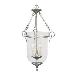 Legacy - 3 Light Chain Lantern in Legacy Style - 14.5 Inches wide by 25 Inches high