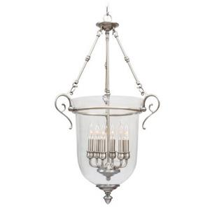 Legacy - 6 Light Chain Lantern in Legacy Style - 20 Inches wide by 33 Inches high