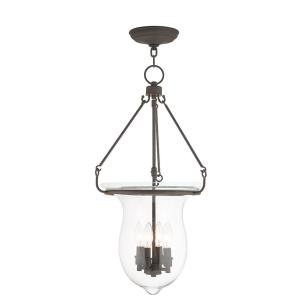 Canterbury - 4 Light Pendant in Canterbury Style - 14 Inches wide by 27 Inches high