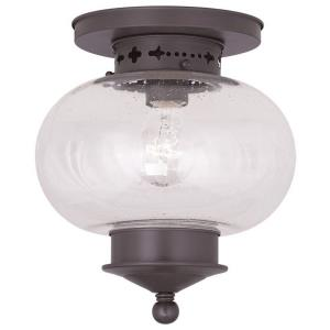 Harbor - 1 Light Flush Mount in Harbor Style - 9.5 Inches wide by 9.75 Inches high