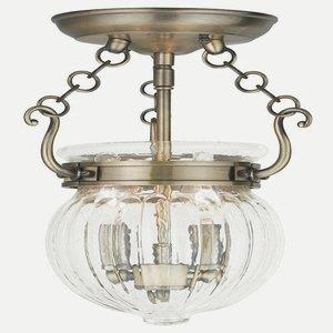 Everett - Two Light Convertible Semi-Flush Mount