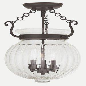 Everett - Three Light Convertible Semi-Flush Mount