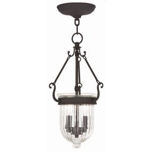 Coventry - 2 Light Pendant in Coventry Style - 9 Inches wide by 16.75 Inches high