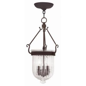 Coventry - 3 Light Pendant in Coventry Style - 10 Inches wide by 20 Inches high