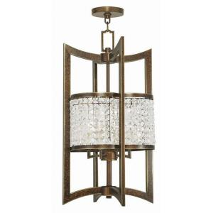 Grammercy - 4 Light Hanging Lantern in Grammercy Style - 14 Inches wide by 26 Inches high