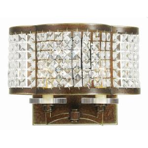Grammercy - 2 Light Wall Sconce in Grammercy Style - 12.25 Inches wide by 9 Inches high