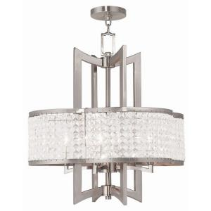 Grammercy - 4 Light Chandelier in Grammercy Style - 22 Inches wide by 24 Inches high