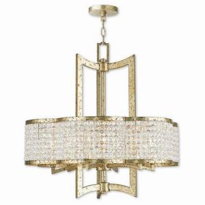 Grammercy - 6 Light Chandelier in Grammercy Style - 26 Inches wide by 26 Inches high