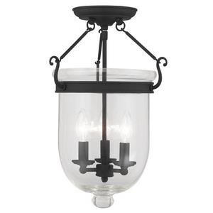 Jefferson - Three Light Flush Mount