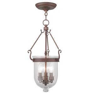 Jefferson - Three Light Chain Hang Pendant